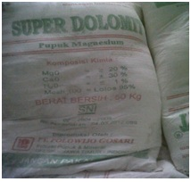 Karung Super Dolomite Polowijo